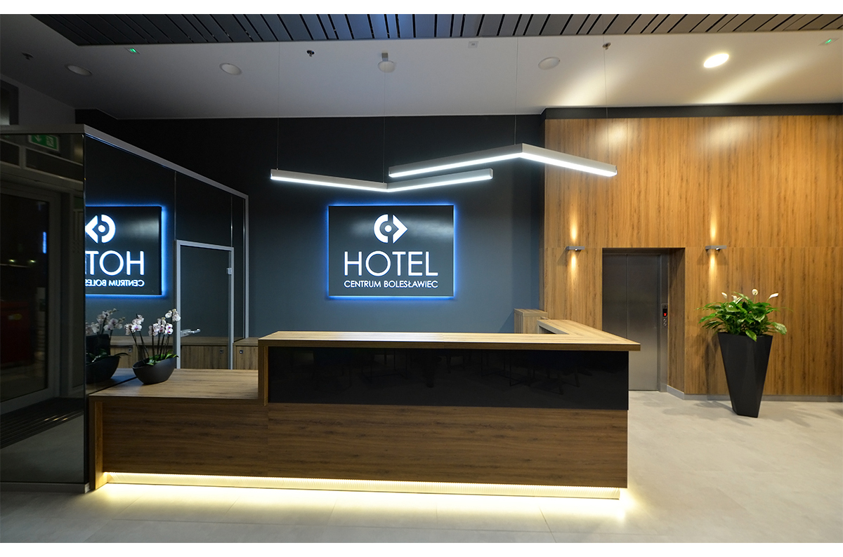 Recepcja hotelowa - Hotel centrum Bolesławiec